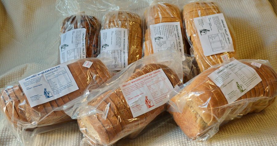 Culina Bakery's range of fresh tasty breads, available from Dolphin Distributors.